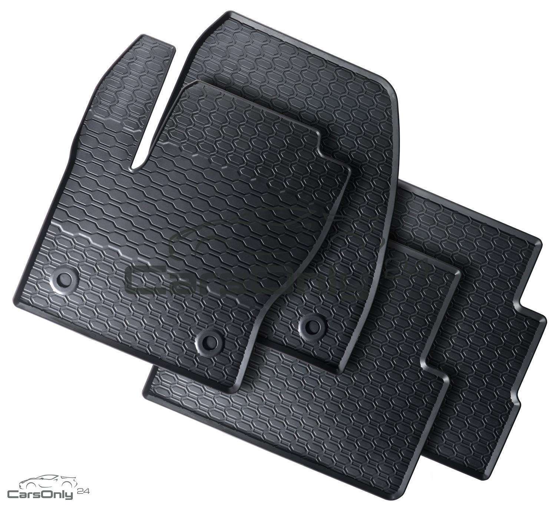 top design gummimatten gummi fu matten 4 tlg ford kuga ii. Black Bedroom Furniture Sets. Home Design Ideas