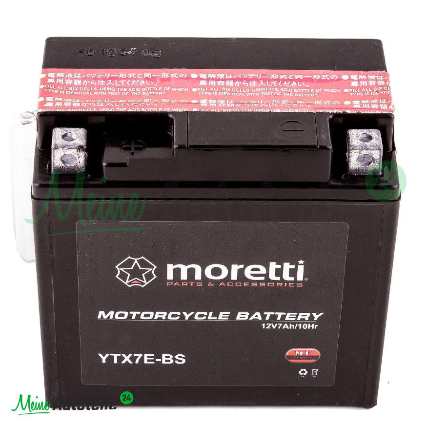 motorrad quad roller universal batterie moretti ytx7e 12n7. Black Bedroom Furniture Sets. Home Design Ideas