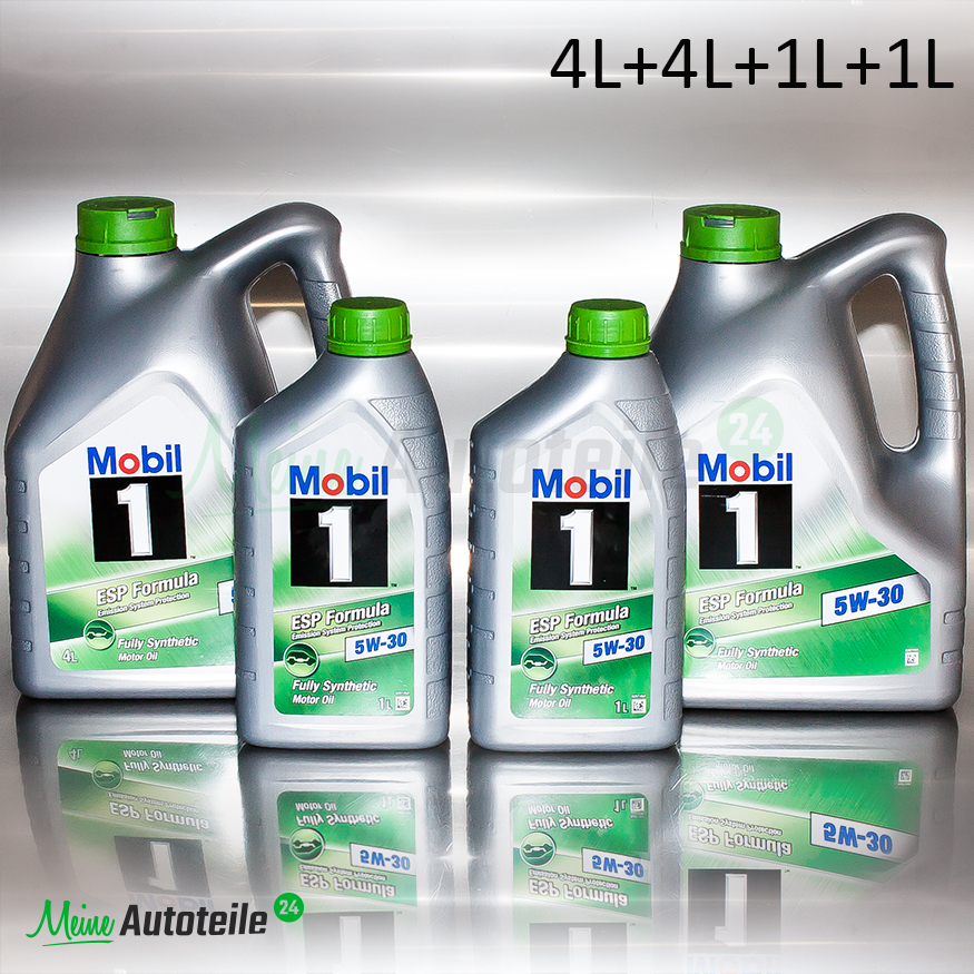 10 liter mobil 1 esp formula 5w 30 motor l 4l 4l 1l 1l 10l preisaktion ebay. Black Bedroom Furniture Sets. Home Design Ideas