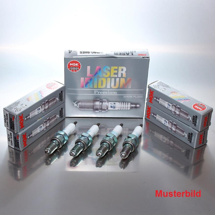 8 x NGK LASER IRIDIUM Zündkerzen IMR9C-9HES 5766 CBR 1000 Fireblade G SC57
