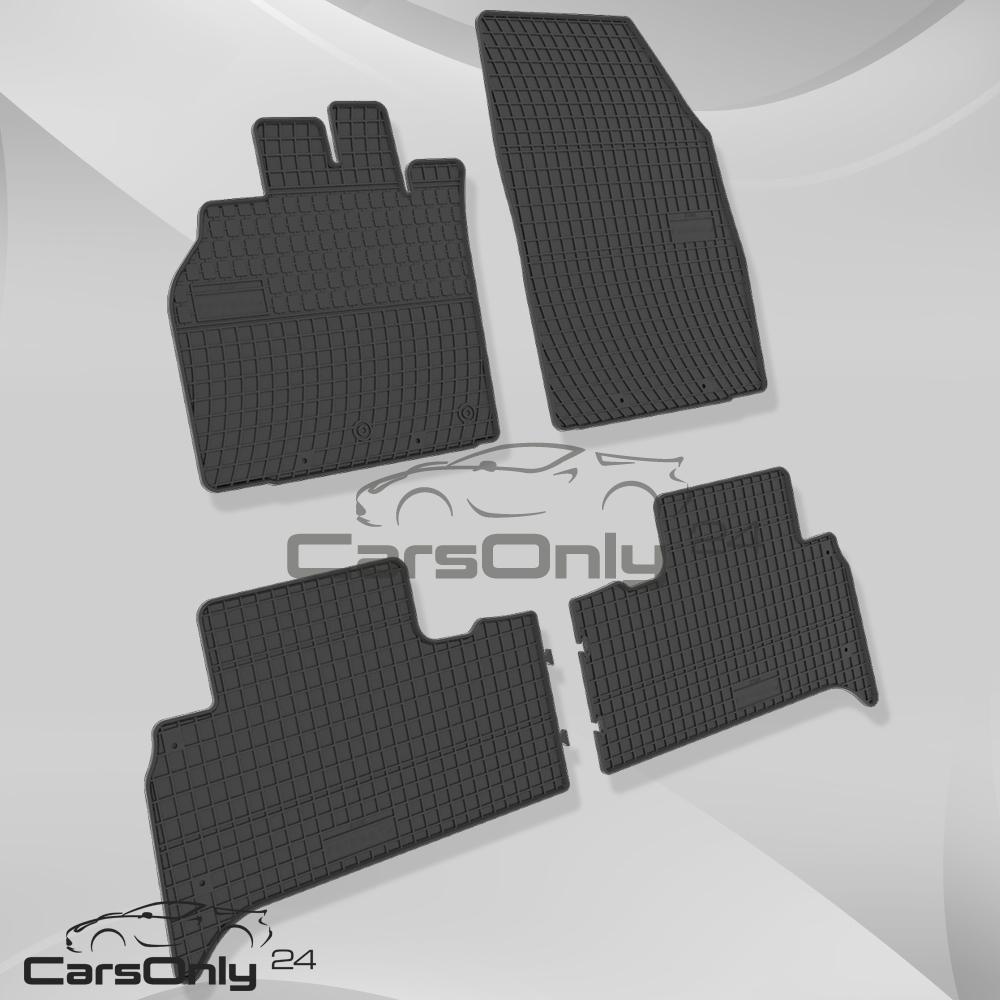 premium gummi fu matten renault scenic ii iii gummimatten. Black Bedroom Furniture Sets. Home Design Ideas