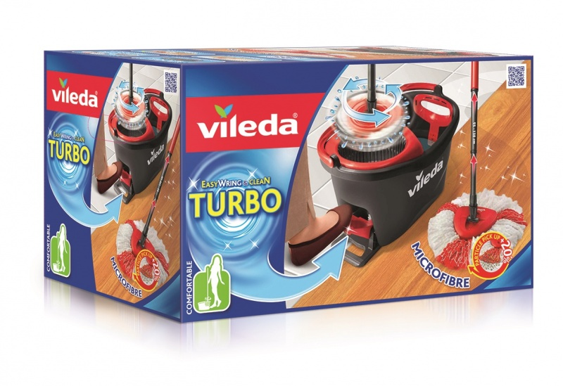 Vileda Easy Wring And Clean Turbo Bodenwischer Wischmopp Top Preis