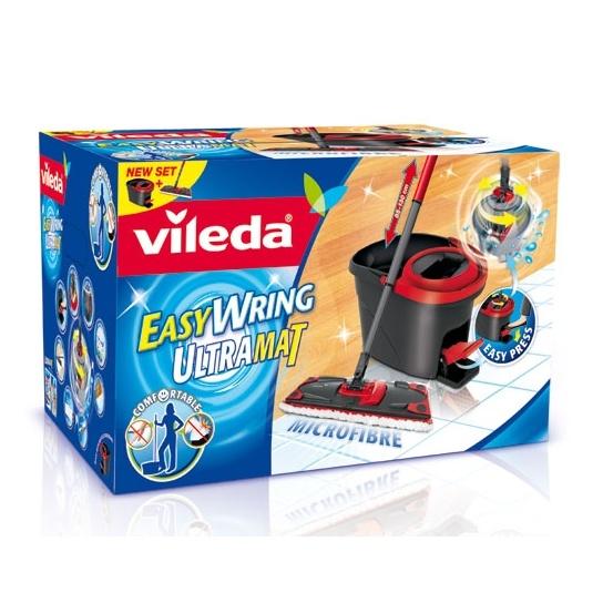 Vileda EasyWring Ultramat Set Wischeimer Bodenwischer Original
